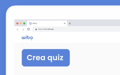 Come creare un quiz con Wibo
